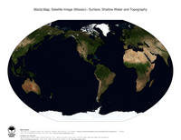 #21 Map World: Surface, Shallow Water and Topography