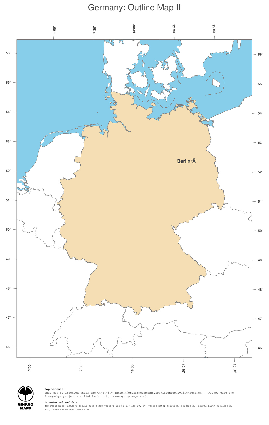 2 map germany political country borders and capital outline map