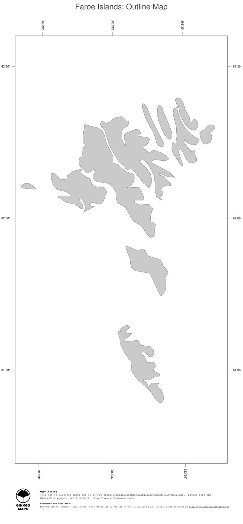 map faroe islands ginkgomaps continent europe region faroe islands -  map faroe islands political country borders (outline map)