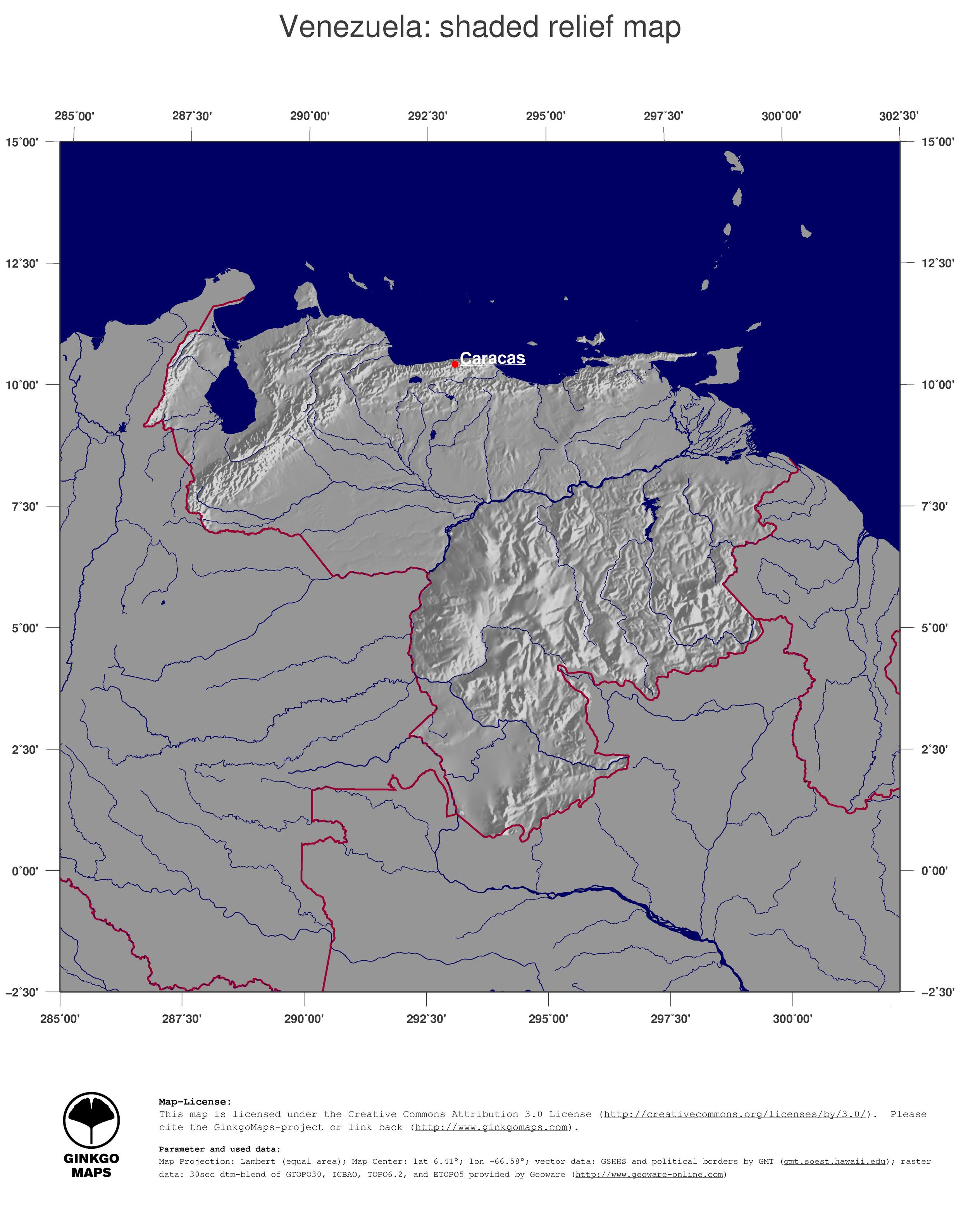 Map venezuela ginkgomaps continent south america region venezuela image mime type icon gumiabroncs Choice Image