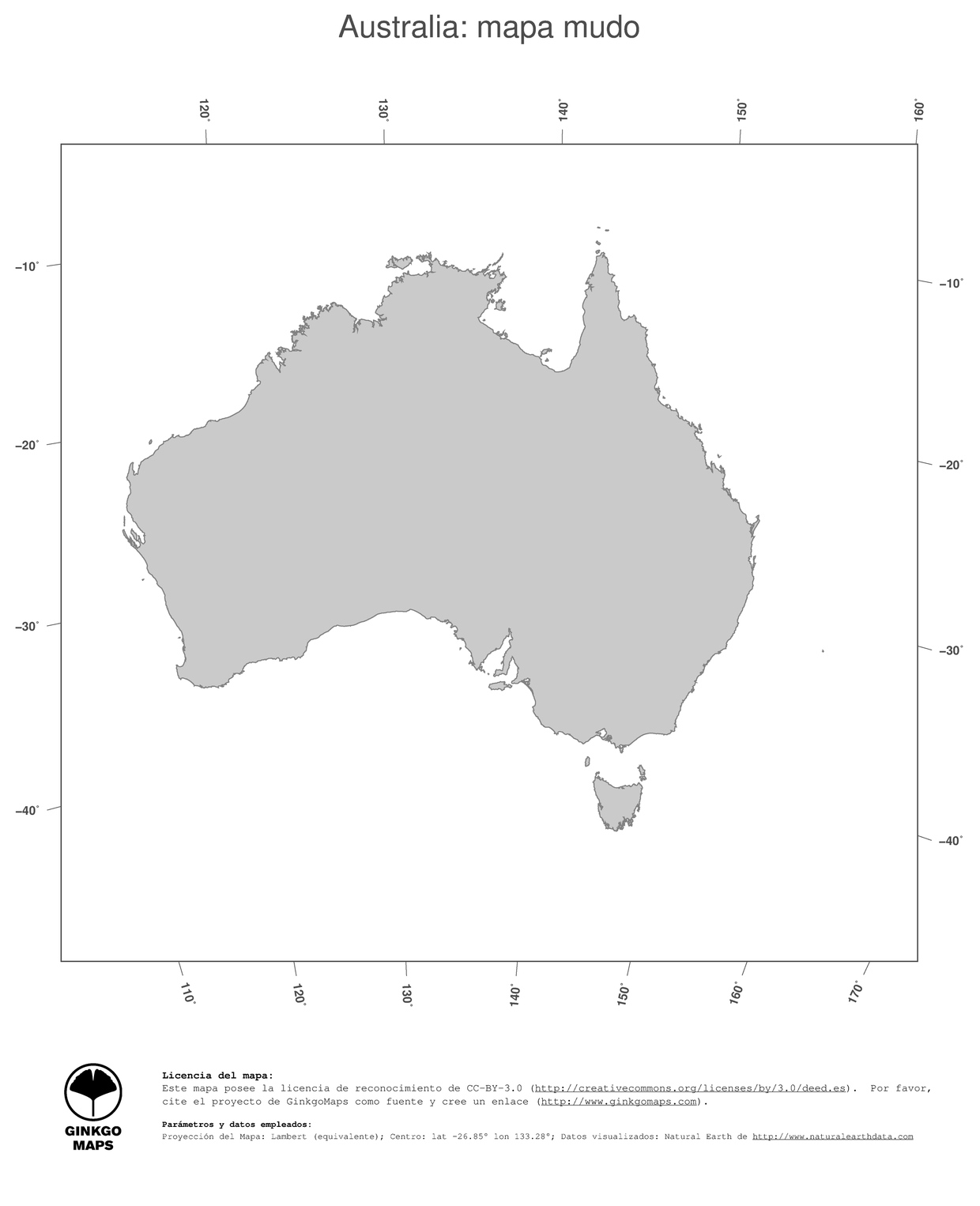 Mapa Australia mapas coleccin continente Oceana record Australia