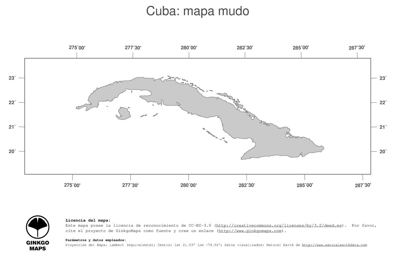 Mapa Cuba Pdf
